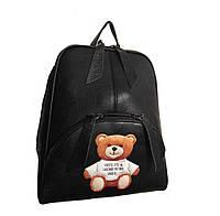 Рюкзак міський молодіжний з мишком чорний (GS121), фото 1