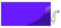 УКРОП МЕТАЛИК 700 инфракрасный обогреватель настенный - панель мягкого отопления шнур+вилка, без терморегулятора, цветная RAL