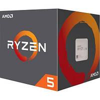 AMD (AM4) Ryzen 5 1400, Box, 4x3,2 GHz (Turbo Boost 3,4 GHz), L3 8Mb, Summit Ridge, 14 nm,