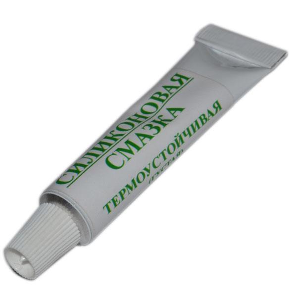 ПМС-12500 Силіконова змазка Термостійка тюбик 10мл. від -50°C до +300°C