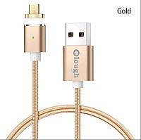 Elough E03 магнитный Micro-USB кабель. Золотистый. Лучшее качество!, фото 1