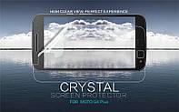 Защитная пленка Nillkin Crystal для Motorola Moto G4 Plus