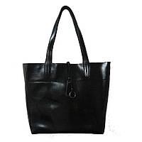 Кожаная сумка женская с украшением