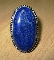 """Овальное кольцо """"Овал"""" с лазуритом, размер 18.2  от студии LadyStyle.Biz, фото 1"""