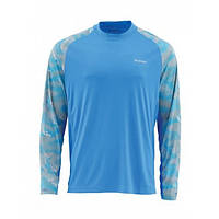 Solarflex Prints Shirt Camo Blue Harbor M блуза Simms