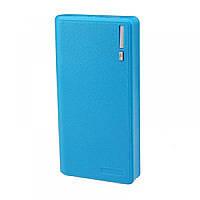 Универсальная мобильная батарея Powerbank 15000mAh Blue LCD 2USB