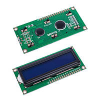QC1602A 16x2 Character LCD Display синяя подсветка (на контроллере HD44780)