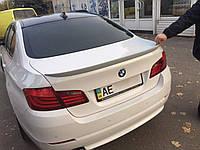 Спойлер лип на багажник BMW series 5 F10 2010-  (стеклопластик)