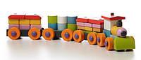 Деревянная игрушка Поезд LP-1 Cubika