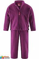 Комплект термобелья флисовый для девочки Reima 516074, цвет 4870
