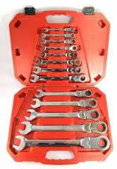 Набор ключей комбинированных с трещоткой Alloid 13 шт НК-8701-13