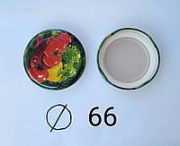 Крышка  евро d 66 стандарт цветная качество