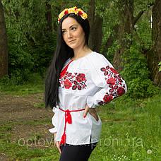 Женская вышиванка вышитая крестиком Шипшина, фото 3