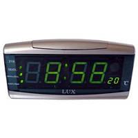 Часы-будильник 05-b2, с термометром, два формата времени, ежечасное оповещение, отсрочка будильника