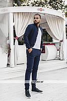 Костюм  мужской джинс бенгалин плотный Отличное качество