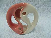Аромалампа керамическая Инь-янь высота 12 см