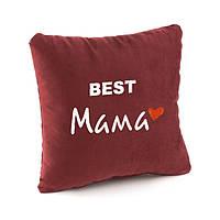 Подушка подарочная для женщин «BEST Мама» флок