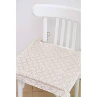 """Подушка на стул """"Ажур"""" с ушками 40х40 см"""