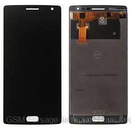 Дисплей OnePlus One complete black