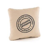 Подушка подарочная для женщин «Идеальная женщина» беж флок_склад