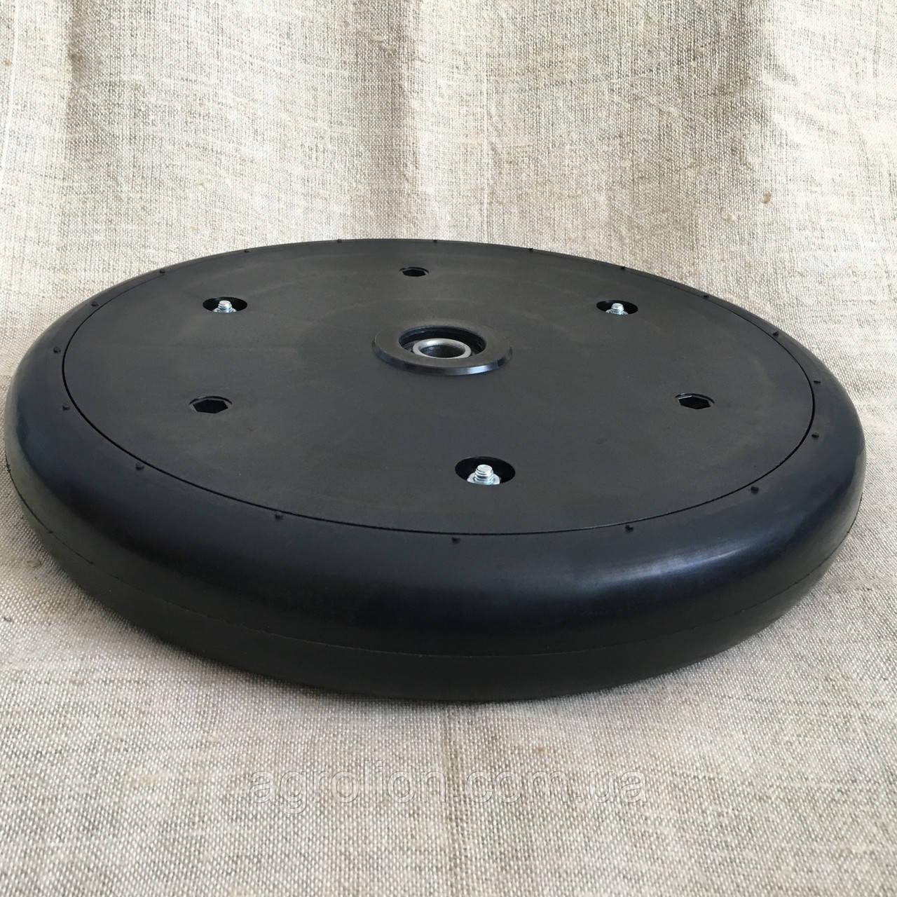 Прикотуюче колесо в зборі ( диск поліамід) 330*50 LE505 Amazone з підшипником 5203KYY2