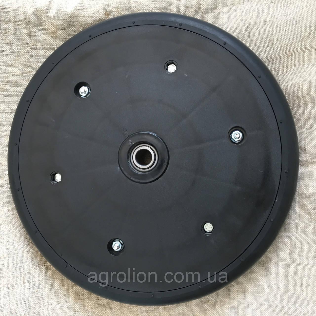 """Прикотуюче колесо в зборі ( диск поліамід) 2"""" x 13"""" Gaspardo F06120259 з підшипником 5203KYY2"""
