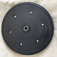 """Прикотуюче колесо в зборі ( диск поліамід) 2"""" x 13"""" Gaspardo F06120259 з підшипником 5203KYY2, фото 1"""