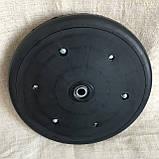 """Прикотуюче колесо в зборі ( диск поліамід) 2"""" x 13"""" Gaspardo F06120259 з підшипником 5203KYY2, фото 4"""