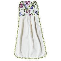 Полотенце кухонное с держателем Садовые цветы