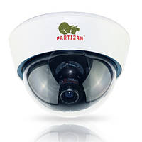 Купольная варифокальная AHD камера Partizan CDM-VF32HQ-7 v3.0, 1.3 Мп