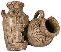 Амфоры Trixie Pots для аквариума декоративные, полиэфирная смола, 18 см