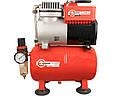 Безмасляный компрессор на 4 литра Intertool PT-0001, фото 6