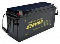 Гелевый  аккумулятор Fisher 150 Aч