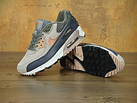 Кроссовки Nіkе Air Max 90 brown black white 36-45 рр
