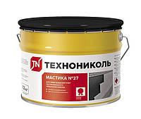Мастика битумная приклеивающая ТехноНИКОЛЬ №27 готовая 12 кг.