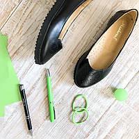 Кожаные туфли на девочку Masheros