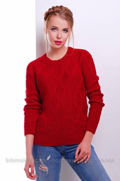 Женский свитер соты в расцветках
