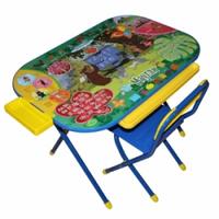 """Комплект детской складной мебели Дэми «Дошколенок», """"Маугли"""", цвет синий"""
