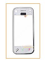 Сенсор (тачскрин) Nokia N97 mini с рамкой White Original