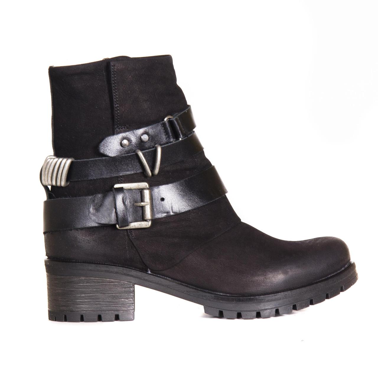 Ботинки нубуковые t1025