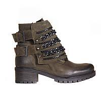 Ботинки нубуковые t1026