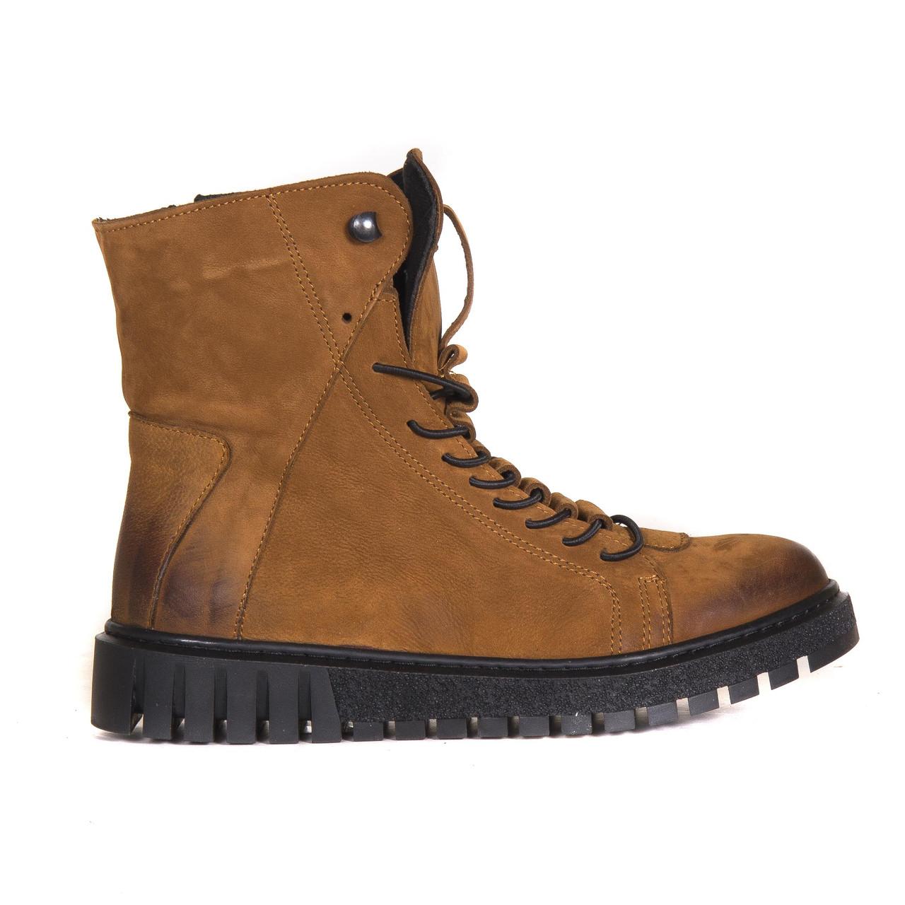 Ботинки нубуковые t1032