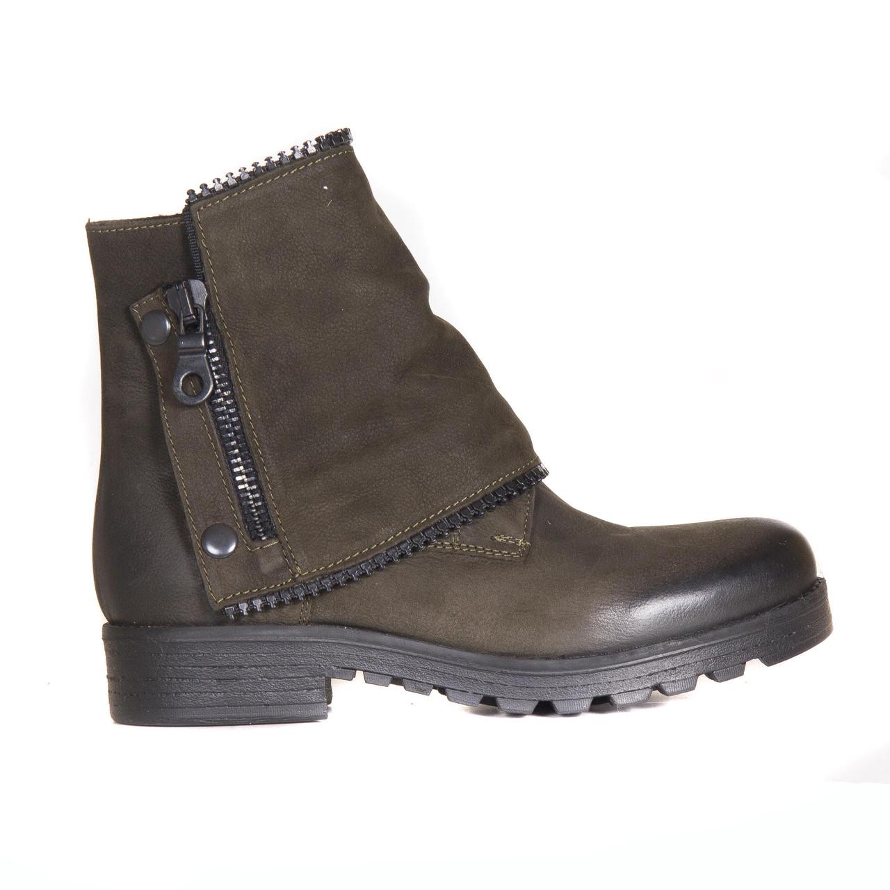 Ботинки нубуковые t1046