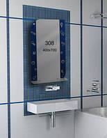 Зеркало для ванной комнаты 400х700 мм Ф308