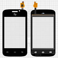 Сенсор (тачскрин) для Fly iQ239 Era Nano 2 черный без камеры