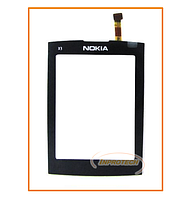 Сенсор (тачскрин) Nokia X3-02 Black Original