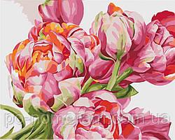 Набор для рисования Идейка Коралловые пионы Худ. Диана Тучс (KH2081) 40 х 50 см