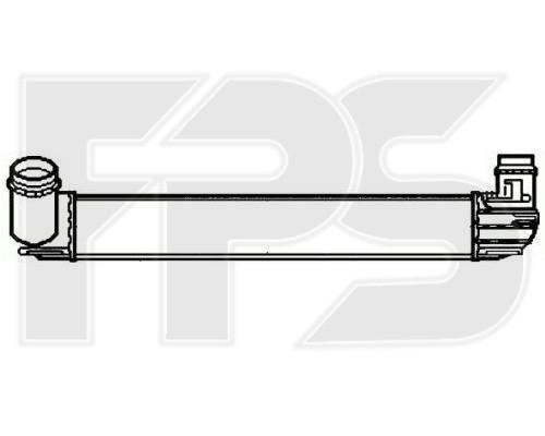 Интеркулер Dacia / Renault (AVA) FP 56 T23