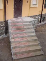 Обігрів сходинок і терас (електричний)