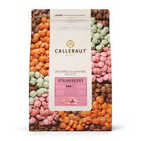 Клубничный шоколад Barry Callebaut, Бельгия 1кг